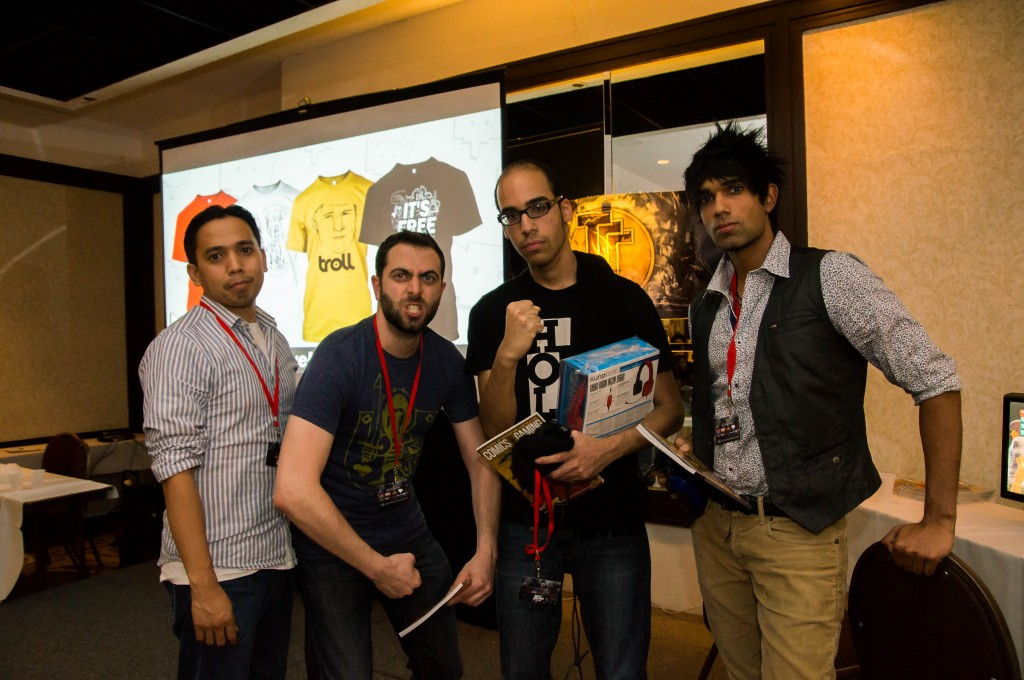 TTT2 Top 3 at Toryuken 2, with the organizer NeoRussell far left
