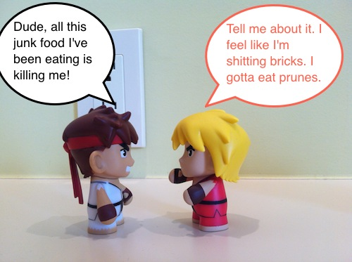 Adult Gamer: Ryu And Ken Discuss Constipation