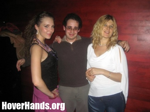 I was totally the hover hands guy